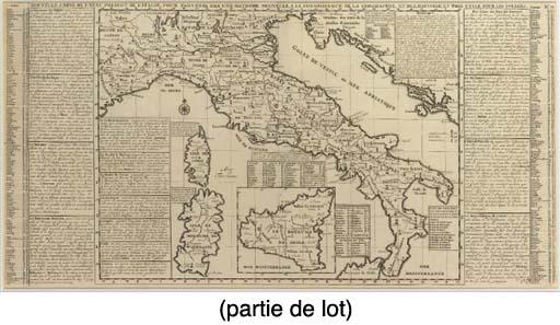 [ITALIE]-- Lot de cinq cartes