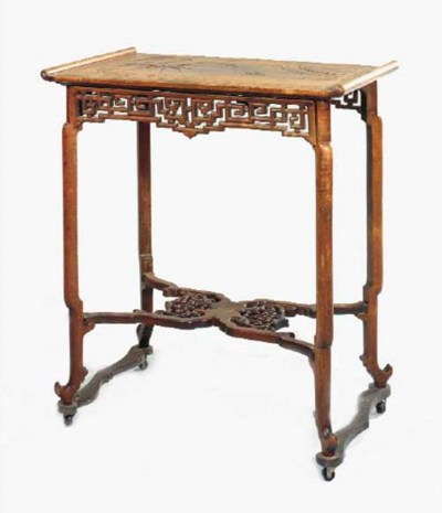 TABLE DE STYLE CHINOIS