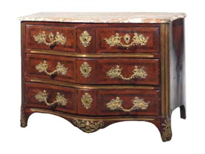COMMODE D'EPOQUE REGENCE