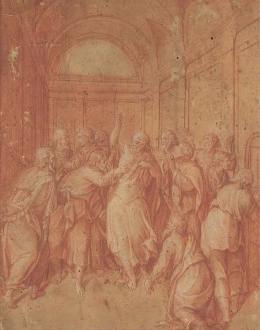 Attribué à Giuseppe Cesari, il Cavaliere d'Arpino (1568-1640)