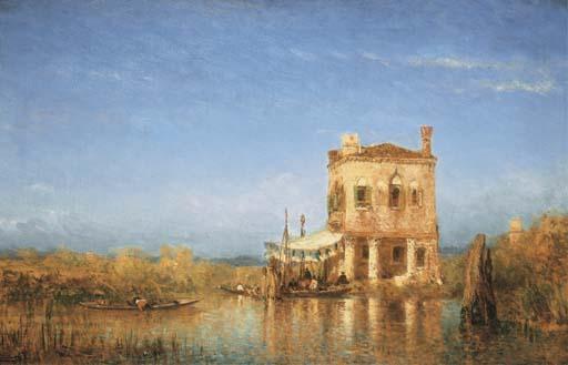FELIX-FRANCOIS-GEORGES-PHILIBERT ZIEM (BEAUNE 1821-1911 PARIS)