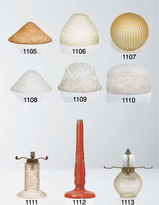 PIED DE LAMPE SPHéRIQUE