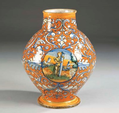 VASO DI FAENZA 1520 CIRCA, PRO