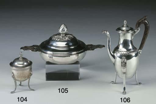 Caffettiera in argento