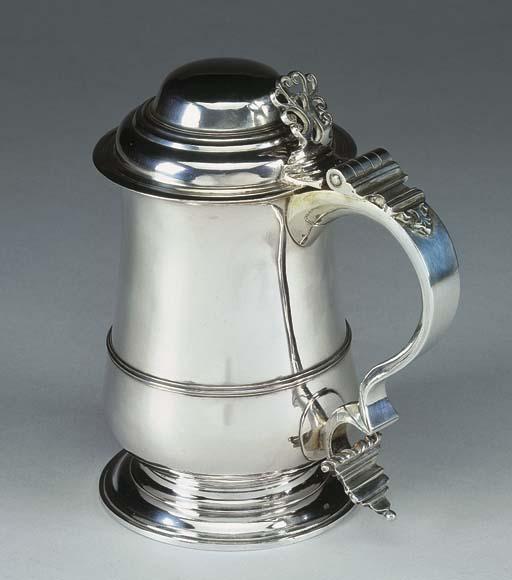 Tankard in argento Giorgio III