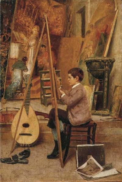 Natale Attanasio (Italia 1845-