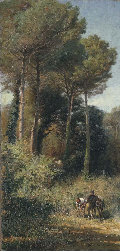 Cesare Bertolla (Italia 1845-1