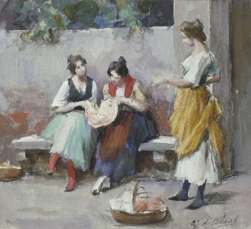 Eugenio De Blaas (Italia 1843-1931)