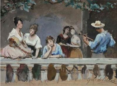 Eugenio De Blaas (Italia 1843-