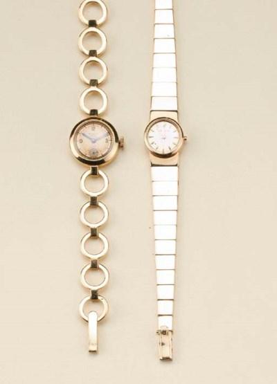 Due orologi in oro giallo, Rol
