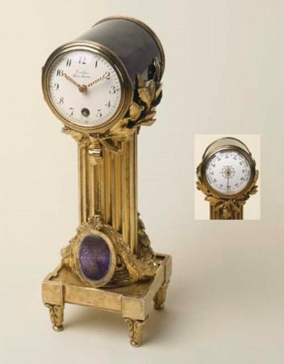 Orologio barometro in vermeil