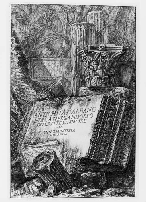 PIRANESI, Giovanni Battista. A