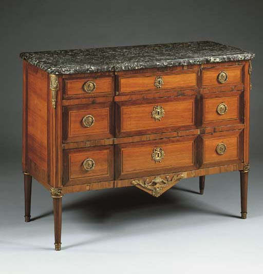 COMMODE IN BOIS DE ROSE, AMARA