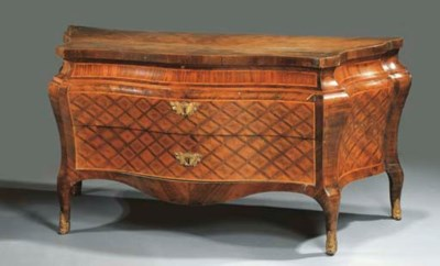 COMMODE IN PALISSANDRO, BOIS D