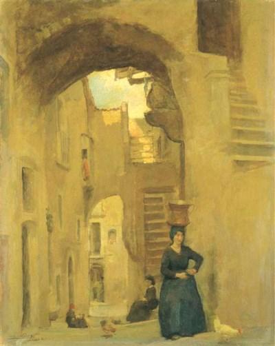 Alberto Carosi (Italia 1891-19