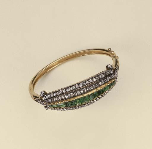 Bracciale in oro e argento con