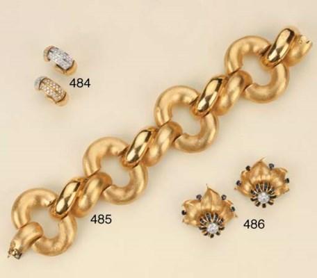 Coppia di bracciali in oro