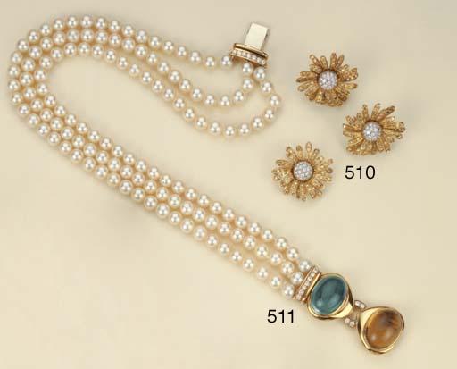 Girocollo in perle coltivate,