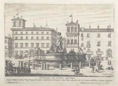FALDA, Giovanni Battista. Le f