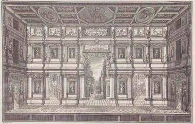 MONTENARI, Giovanni. Del teatr