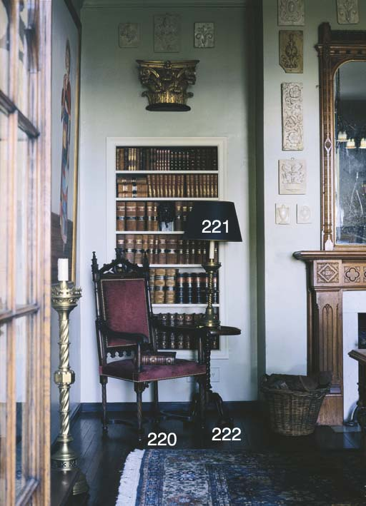 A 19TH CENTURY FRENCH STAINED