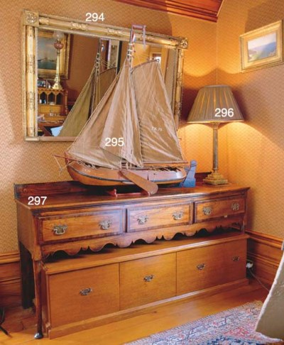 A MODEL OF A DUTCH LUGGER
