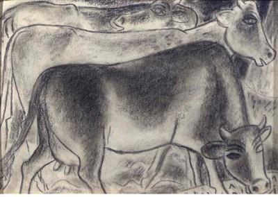 (2)  Leo Gestel (Dutch, 1881-1