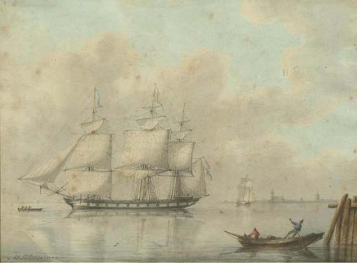 (2)  Martinus Schouman (Dutch, 1770-1848)
