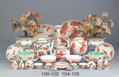 (10) An assorted lot of Chines