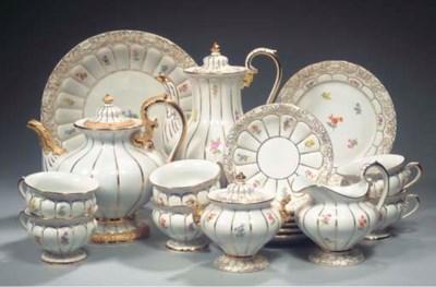 (26) A Meissen porcelain flora