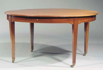 A Dutch mahogany extending din