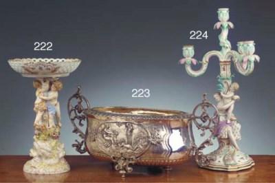 A Meissen porcelain figural aj