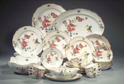 (42) A Meissen porcelain Kakie