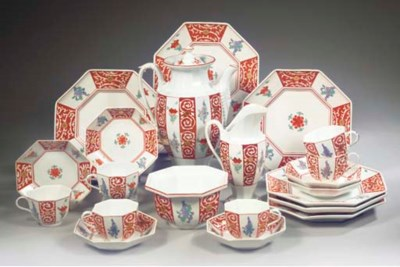 (22) A Meissen porcelain Japan