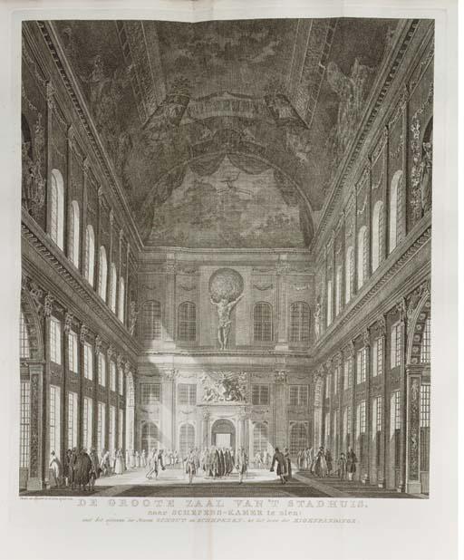 JAN WAGENAAR (1709-1773) NIEUWE ATLAS OF AMSTERDAMSCHE TAFEREELEN