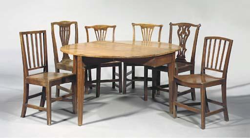 A George III mahogany gateleg table