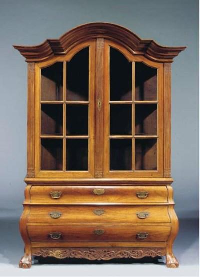 A Dutch colonial teak cabinet