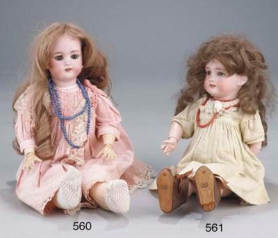 A Tete Jumeau child doll
