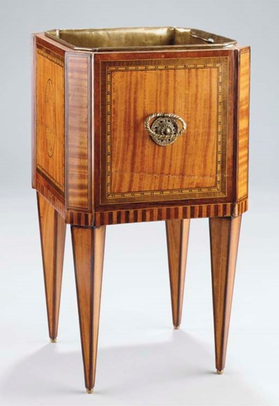 A Dutch satinwood, rosewood an