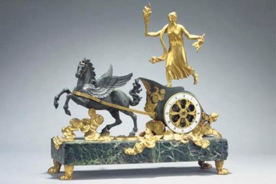 A French patinated bronze, orm