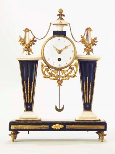 A French ormolu-mounted, black