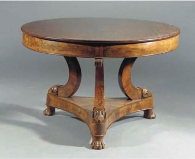 A North European mahogany cent