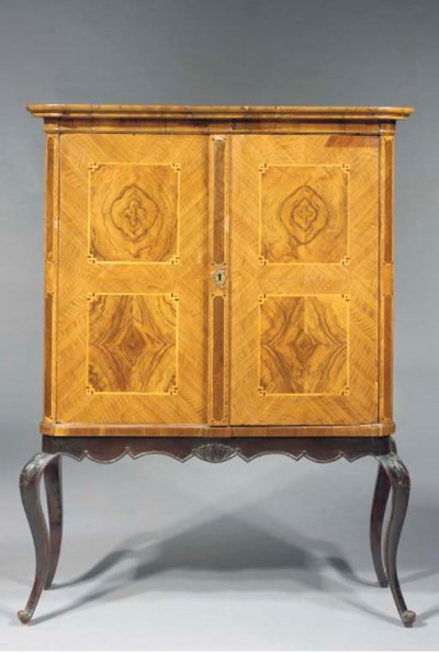 A South West German walnut and