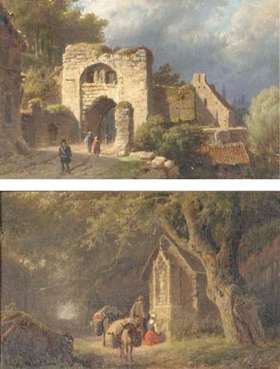 (2) Barend Cornelis Koekkoek (