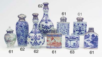 (11) An assorted lot of blue a