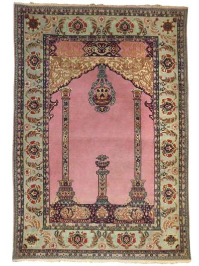 A TURKISH PRAYER RUG