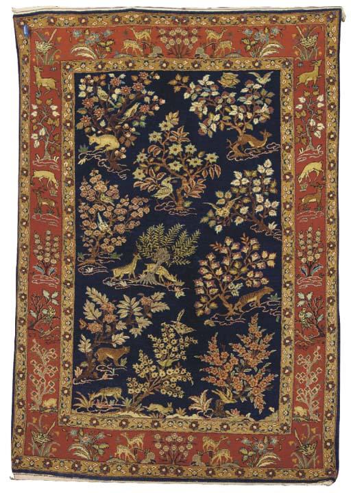 A Central Persian part-silk hu