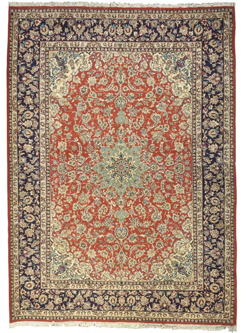 A NAJAFABAD CARPET