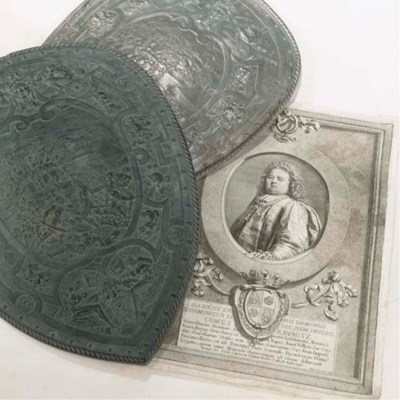 A CAST IRON SHIELD