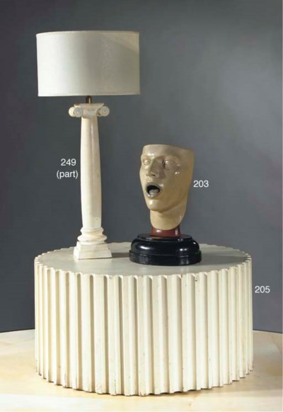 FOUR VARIOUS TABLE LAMPS